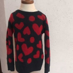 "Other - Baby Gap Kids "" hearts ""sweater"
